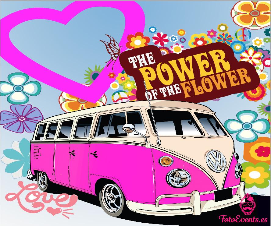 power flower photocall zaragoza