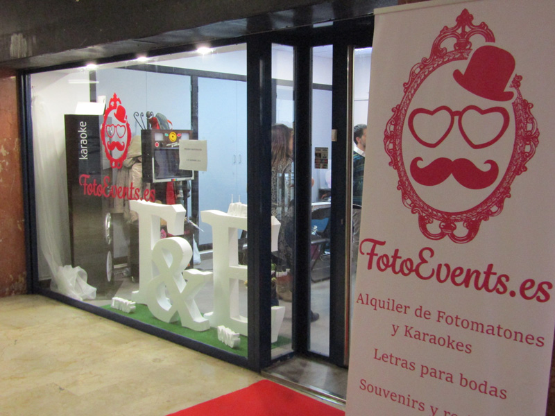 fotoevents inauguración tienda zaragoza