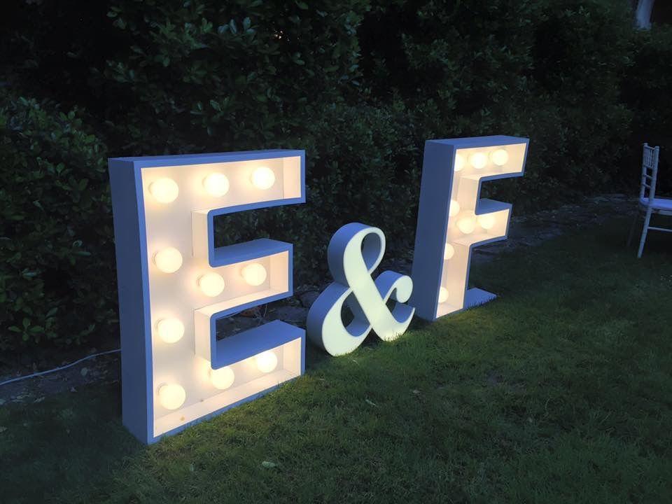letras decorativas para eventos