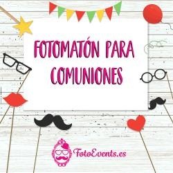 fotomatón comuniones Zaragoza